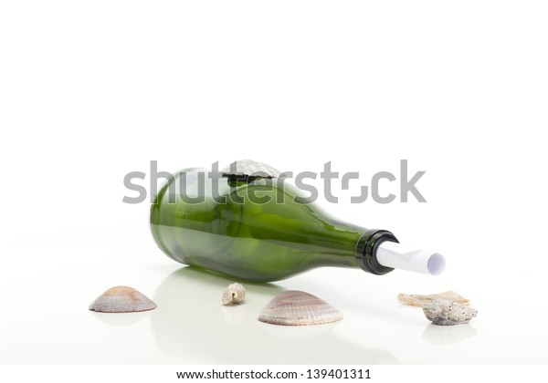 Found an important message in a bottle