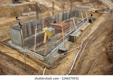 foundation of a new build house