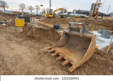 foundation of a new built house