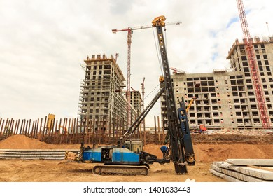 Piling Equipment Images, Stock Photos & Vectors | Shutterstock