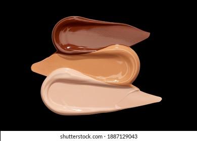 foundation trio skin tones makeup