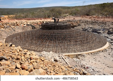 Foundations of wind turbines