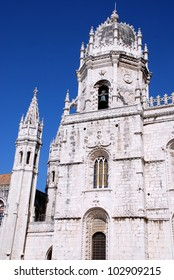Founded in 1501, the magnificent Jer�³nimos Monastery in Lisbon,Portugal is a great monument to the Age of Discovery and a magnificent example of the Manueline style of architecture.