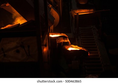 Foundry molten metal casting