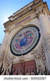 Fountain Amedee Pichot, Arles, Provence-Alpes-Cote d'Azur, France