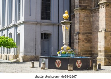 Fountain in Ansbach, Germany