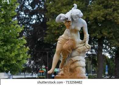 Fountain in the centre of Eskilstuna, Sweden