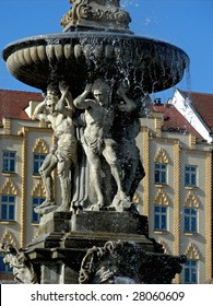 Fountain detail - Czech Republic