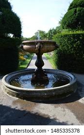 A fountain in English garden