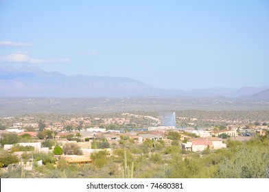 The Fountain in Fountain Hills, Arizona