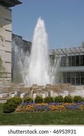 Fountain at IMA