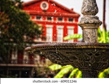 Fountain, Jackson Square Park, New Orleans, Louisiana