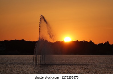 Fountain at Karlskrona, Sweden