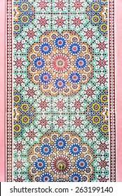 fountain morocco - soft film tone effect