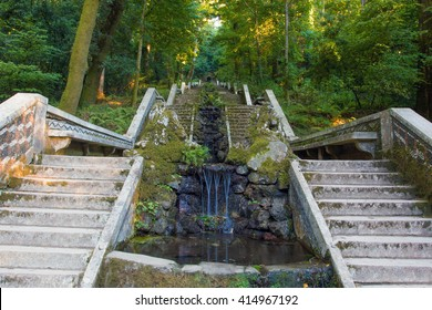 Fountain in Boçaco National park - Portugal
