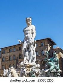 Fountain of Neptune. Florence. Italy