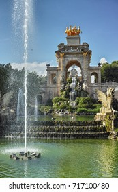 Fountain of the Parc de La Ciutadella, Barcelona