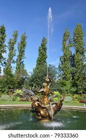 Fountain in Regents Park, London