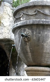 Fountain in Saint Paul de Vence, south of France