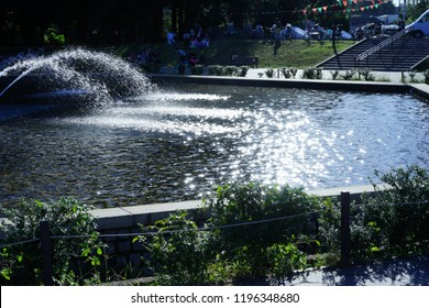 fountain in Setagaya park