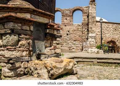 Fountain at St. Sophia church, Old Nesebar