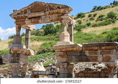 Fountain of Trajan in Ephesus