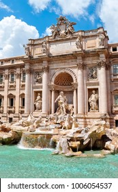 Fountain Trevi, Rome, Italy