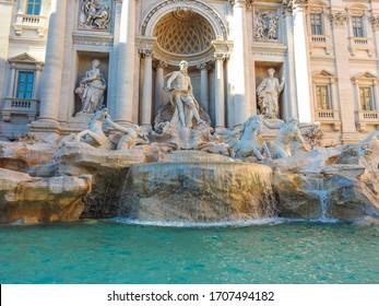 Fountain of Trevi, Rome, Italy