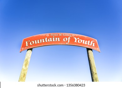 Fountain of Youth Entrance in St. Augustine, Florida