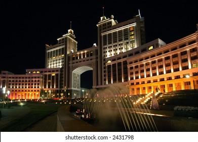 fountains of Astana, Kazakhstan