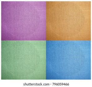 four color textured tile background