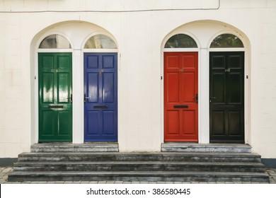 four doors on killkenny in ireland