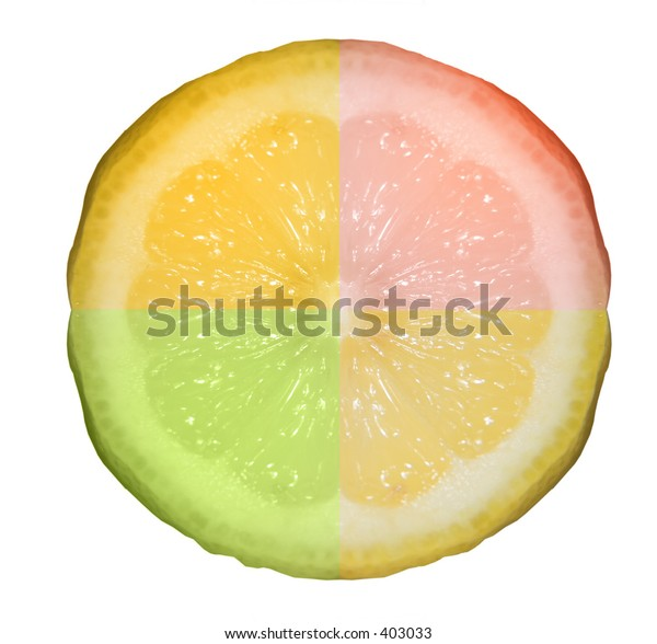 Four flavors of citrus in one.