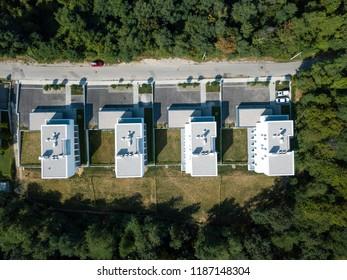 FOUR MODERN HOUSES