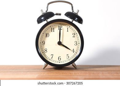 It's four o'clock already. Time to wake up and hurry. An image of a retro clock showing 04:00 am or pm