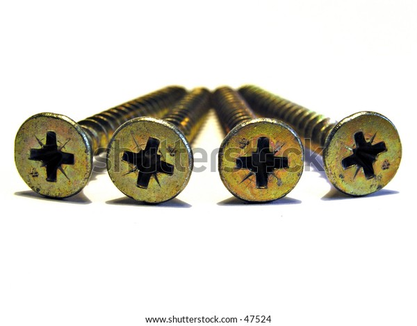 Four screws