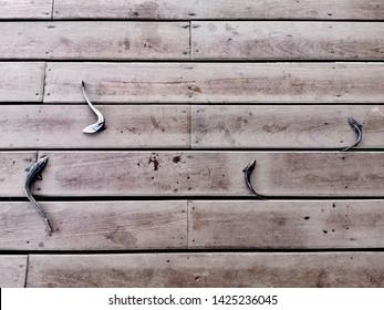 four shark suckers on the floor