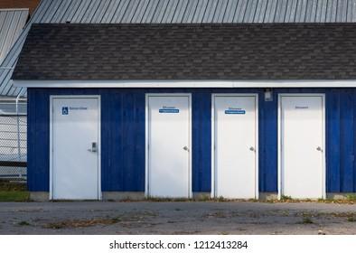 Four shower doors