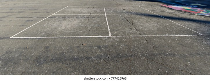 Four Square Playground Game