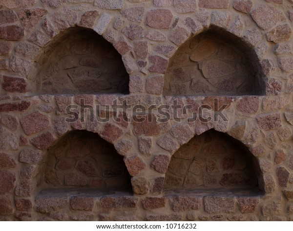 Four Stone Alcoves