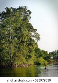 Four Thousand Islands.Mekong river, Laos.