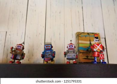 four  tinman  toy