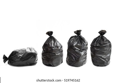 Four of waste bags