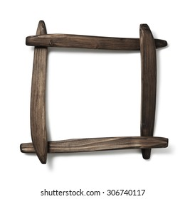 four wood pieces.frame.