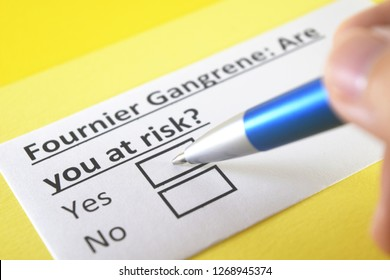 Fournier gangrene: are you at risk? yes or no