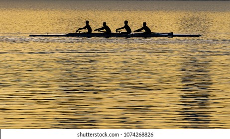 four-person rowing sport