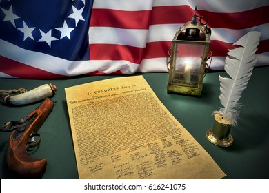 Fourth of July celebration / Signing the Declaration of Independence