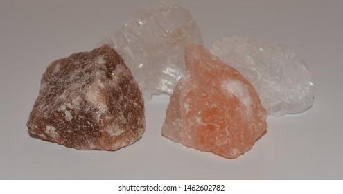 Fout salt rocks Pink Himalayan, Hilite and Alpen
