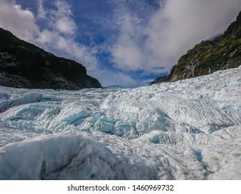 The Fox Glacier, West Coast, West Land, New Zealand South Island