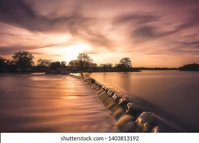 Fox River Damn Mchenry Illinois